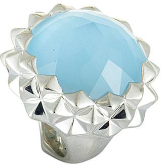 Stephen Webster Silver 43.50 Ct. Tw. Gemstone Ring