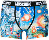 Moschino transformer print boxers