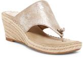 Johnston & Murphy Ainsley Thong Wedge Sandal