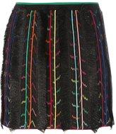 Missoni fringe detail skirt