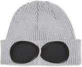 Cp Company Goggle Knitted Cotton Beanie