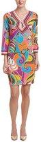 Trina Turk Women's Kaylan Island Swirl Matte Jersey Dress