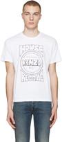 Kenzo White 'House Reggae' T-Shirt