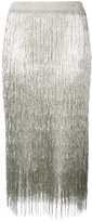 Rachel Zoe fringed pencil skirt
