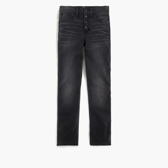 J.Crew Vintage straight jean with cut hem in asphalt wash