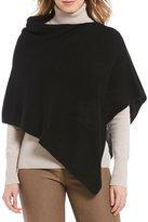 Alex Marie Isla Asymmetrical Pullover Poncho