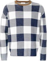 TOMORROWLAND long-sleeve check sweater