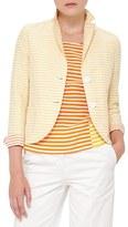 Akris Punto Women's Stripe Cotton & Linen Jacket