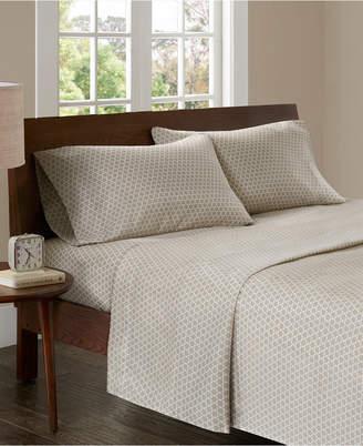 Madison Home USA 3M Microcell Print 4-pc Full Sheet Set Bedding