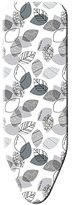 Minky Easy Fit Ironing Board Cover - 122 x 43cm, Black and White
