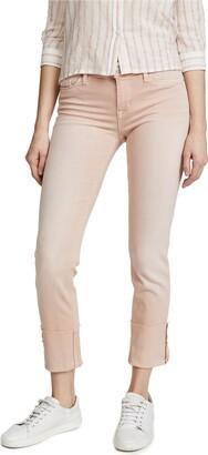 Hudson Women's Tally DEEP Cuff Crop Skinny 5 Pocket Jean