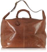 The Bridge Story Viaggio Marrone Leather Weekender Bag