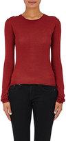 Barneys New York Women's Cashmere-Silk Sweater-BURGUNDY