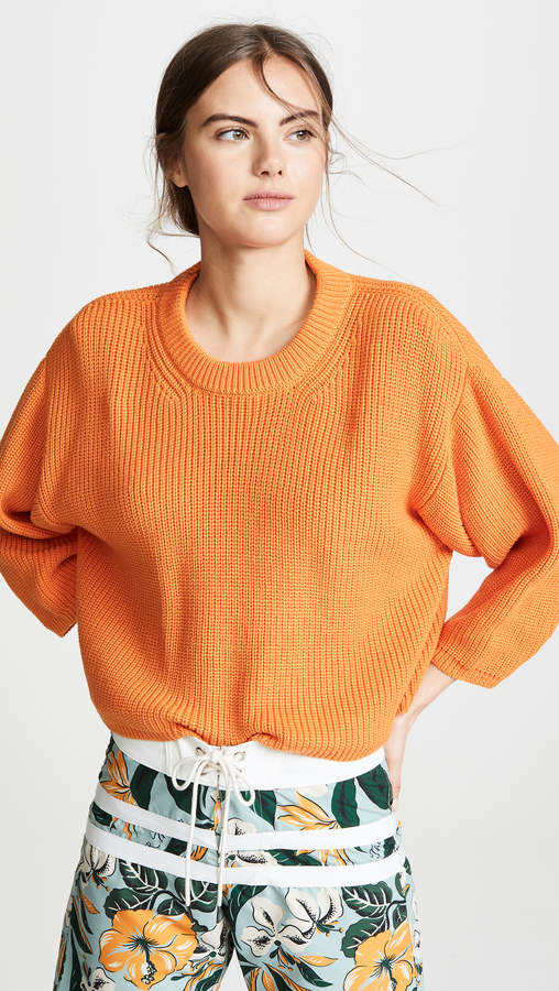 I Love Mr Mittens Cropped Crew Neck Pullover