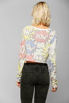 Urban Outfitters Coincidence & Chance Comic Cropped Sweater