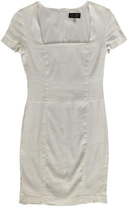 Armani Jeans White Linen Dress for Women