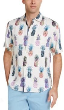 Tommy Bahama Men's Pop Art Pineapple Graphic Shirt