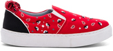 Chiara Ferragni Bandana Slip-On Sneaker