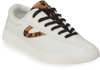 Tretorn Nylite Plus Suede Low-Top Sneakers