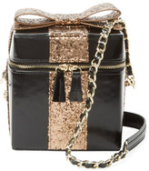 Alice + Olivia Present Box Small Leather Crossbody