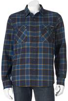 ZeroXposur Men's Classic-Fit Plaid Performance Flannel Button-Down Shirt