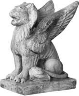 Orlandi Statuary Caesar's Griffin Statue