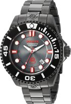 Invicta 19809 Men's Pro Diver Automatic Dive Red Accent Dial IP Steel Watch