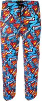 Superman Mens Print Cotton Lounge Pants Sizes S,M,L,XL