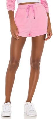 superdown Danna Fleece Shorts