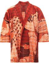 Homme Plissé Issey Miyake - geisha print open jacket - men - Polyester - 3