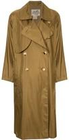 Hermes pre-owned long sleeve rain coat