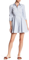 BCBGeneration Fit and Flare Shirt Dress