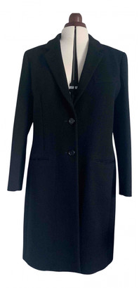 Aquascutum London Black Wool Coats