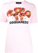 DSQUARED2 mouse print T-shirt