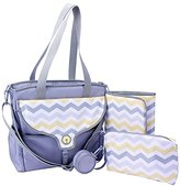 Boppy Golden Diaper Bag, Chevron