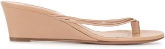 Aquazzura Pedi 45mm wedge sandals