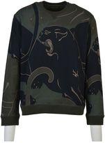 Valentino Panther Print Sweater