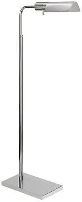 Visual Comfort & Co. Library Adjustable Floor Lamp - Nickel