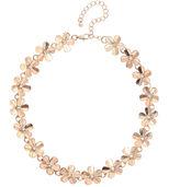 Natasha Accessories Womens Clear Choker Necklace