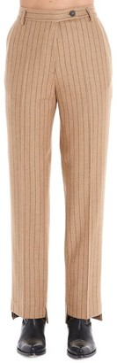 Golden Goose Pinstripe Tailored Straight Trousers