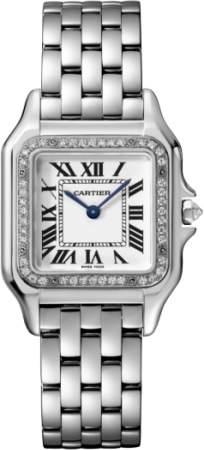 Cartier Panthere de WJPN0007 18K White Gold 27mm Womens Watch