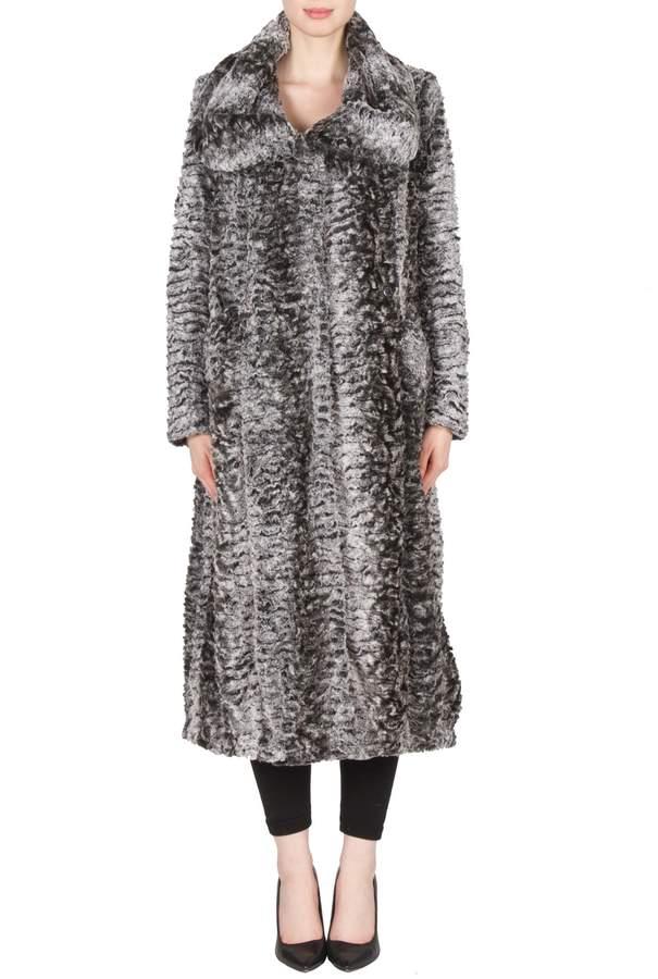 Joseph Ribkoff Plush Faux Fur Coat