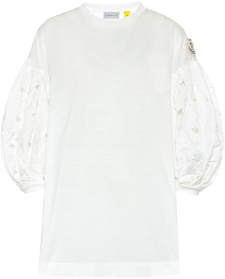 MONCLER GENIUS 4 MONCLER SIMONE ROCHA embellished T-shirt