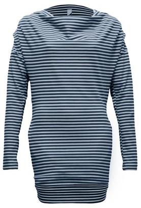 Format Tjok Longsleeved Dress - blue striped / XS