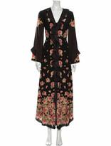 Thumbnail for your product : Vilshenko Silk Midi Length Dress Black