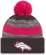 New Era Denver Broncos Women's NFL Breast Cancer Awareness Sport Knit Hat - Size One