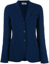 Alberto Biani three-button blazer - women - Spandex/Elastane/Acetate/Viscose - 42