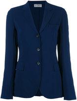 Alberto Biani three-button blazer - women - Viscose/Spandex/Elastane/Acetate - 42