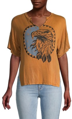 Vintage Havana Americana Eagle Graphic Washed Tee