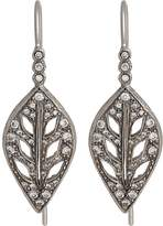 Cathy Waterman Women's Leaf Drop Earrings